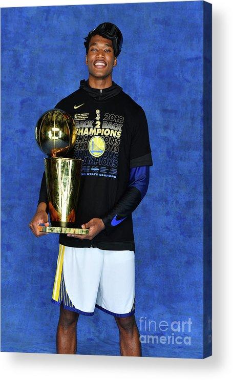 Playoffs Acrylic Print featuring the photograph Damian Jones by Jesse D. Garrabrant