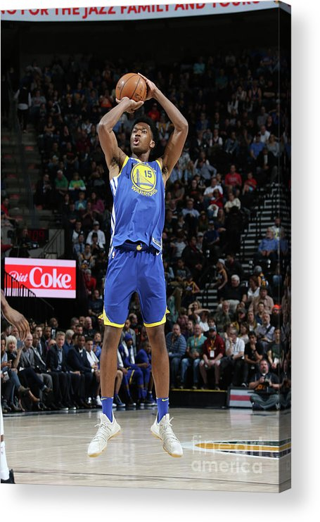 Nba Pro Basketball Acrylic Print featuring the photograph Damian Jones by Melissa Majchrzak