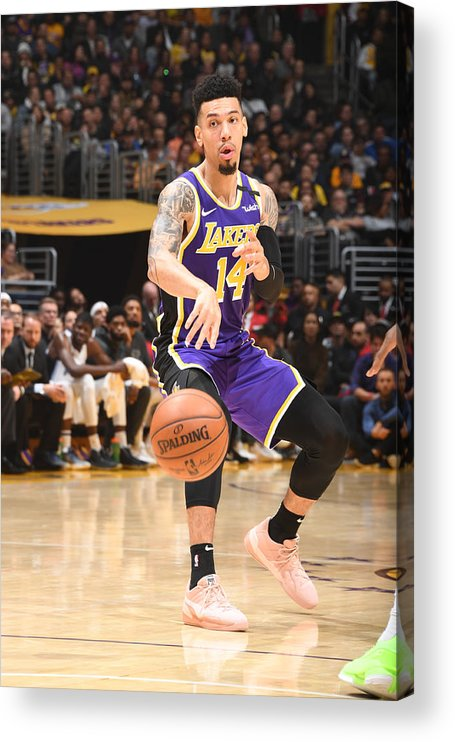 Nba Pro Basketball Acrylic Print featuring the photograph Danny Green by Andrew D. Bernstein