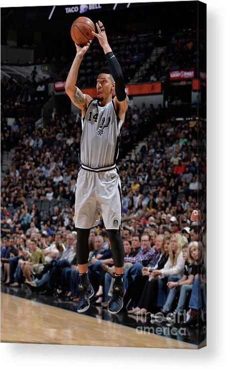 Nba Pro Basketball Acrylic Print featuring the photograph Danny Green by Mark Sobhani