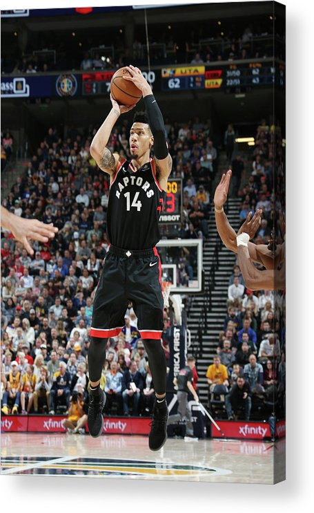 Nba Pro Basketball Acrylic Print featuring the photograph Danny Green by Melissa Majchrzak