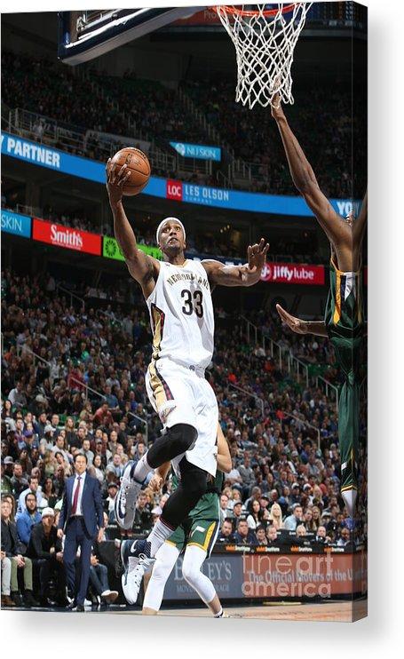 Nba Pro Basketball Acrylic Print featuring the photograph Dante Cunningham by Melissa Majchrzak