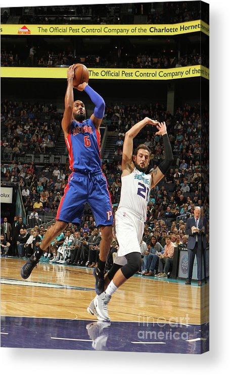 Nba Pro Basketball Acrylic Print featuring the photograph Darrun Hilliard by Brock Williams-smith
