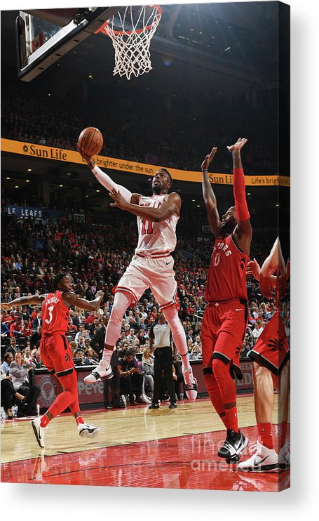Nba Pro Basketball Acrylic Print featuring the photograph David Nwaba by Ron Turenne