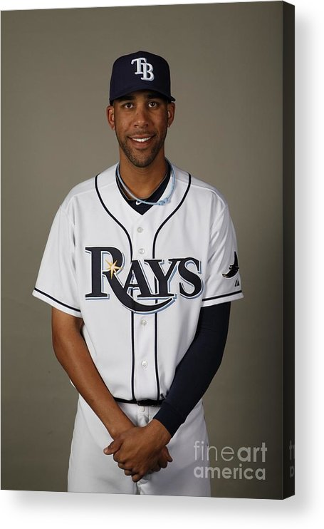 Media Day Acrylic Print featuring the photograph David Price by Robert Rogers