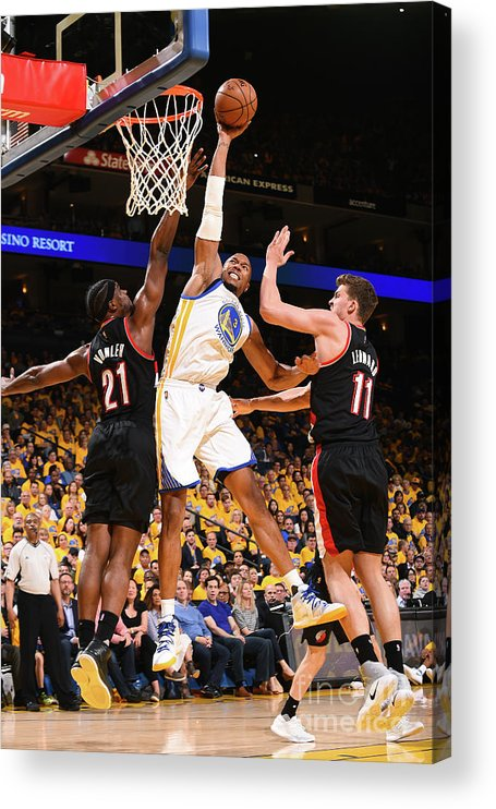 Playoffs Acrylic Print featuring the photograph David West by Noah Graham
