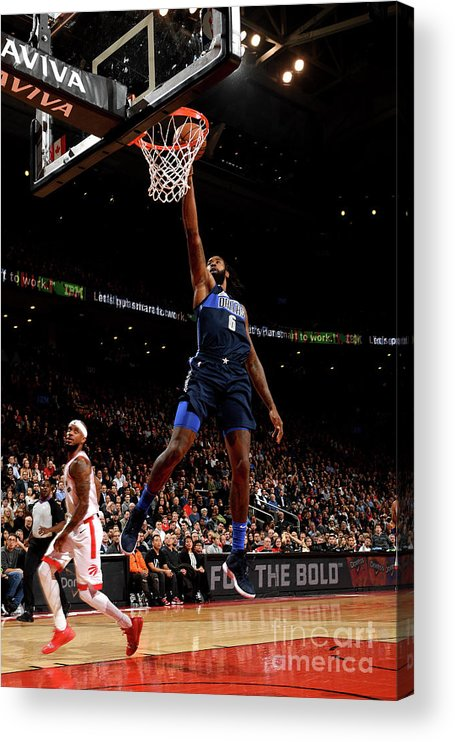 Nba Pro Basketball Acrylic Print featuring the photograph Deandre Jordan by Ron Turenne