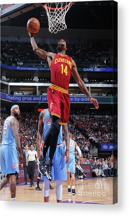 Nba Pro Basketball Acrylic Print featuring the photograph Deandre Liggins by Rocky Widner