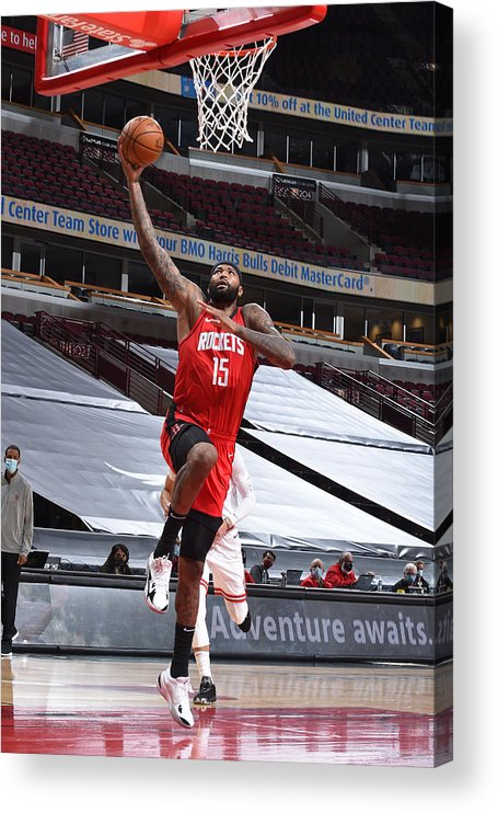 Nba Pro Basketball Acrylic Print featuring the photograph Demarcus Cousins by Randy Belice