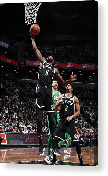 Nba Pro Basketball Acrylic Print featuring the photograph Demarre Carroll by Nathaniel S. Butler