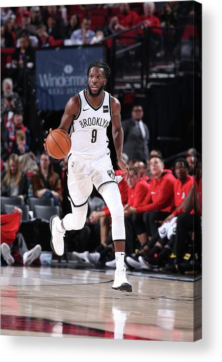 Nba Pro Basketball Acrylic Print featuring the photograph Demarre Carroll by Sam Forencich