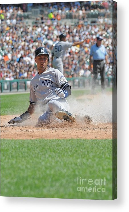 People Acrylic Print featuring the photograph Derek Parks by Mark Cunningham