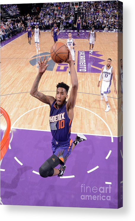 Nba Pro Basketball Acrylic Print featuring the photograph Derrick Jones by Rocky Widner