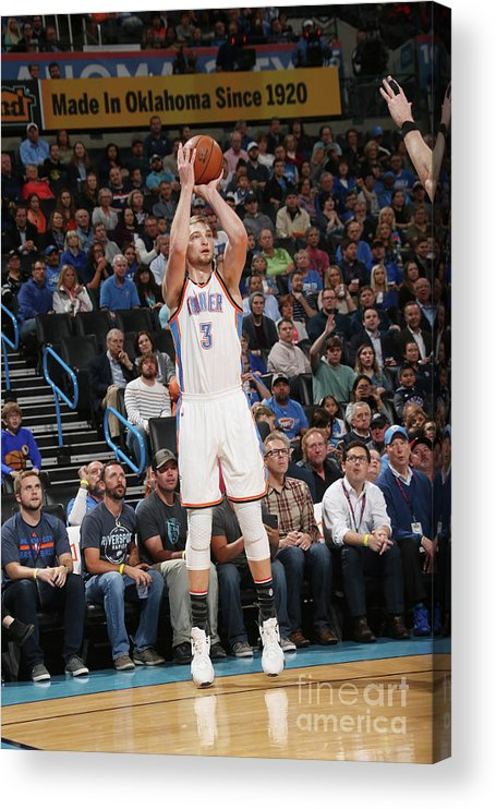 Nba Pro Basketball Acrylic Print featuring the photograph Domantas Sabonis by Layne Murdoch