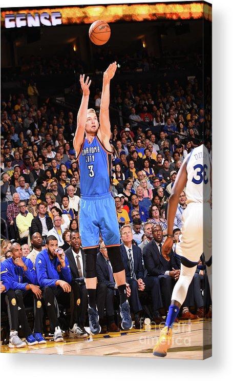 Nba Pro Basketball Acrylic Print featuring the photograph Domantas Sabonis by Noah Graham