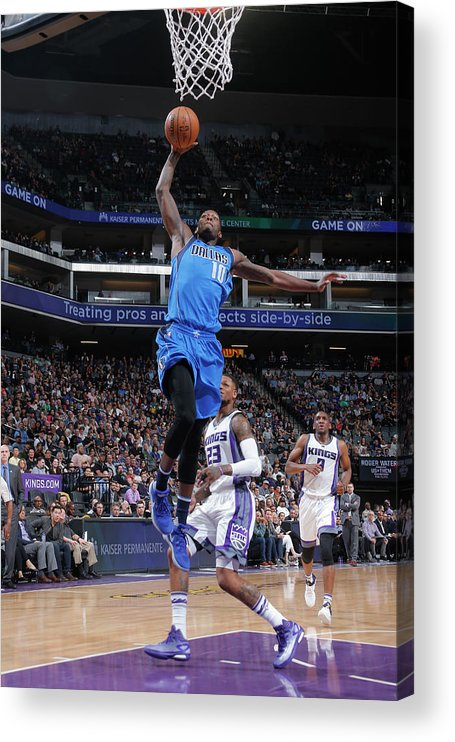 Nba Pro Basketball Acrylic Print featuring the photograph Dorian Finney-smith by Rocky Widner