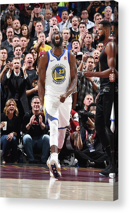 Playoffs Acrylic Print featuring the photograph Draymond Green by Andrew D. Bernstein
