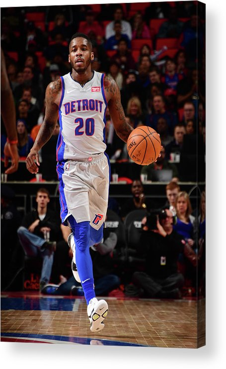 Nba Pro Basketball Acrylic Print featuring the photograph Dwight Buycks by Chris Schwegler