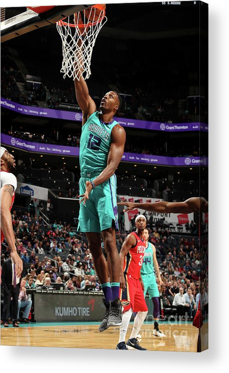 Nba Pro Basketball Acrylic Print featuring the photograph Dwight Howard by Kent Smith