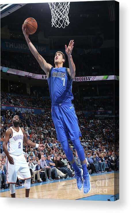 Dwight Powell Acrylic Print featuring the photograph Dwight Powell by Layne Murdoch