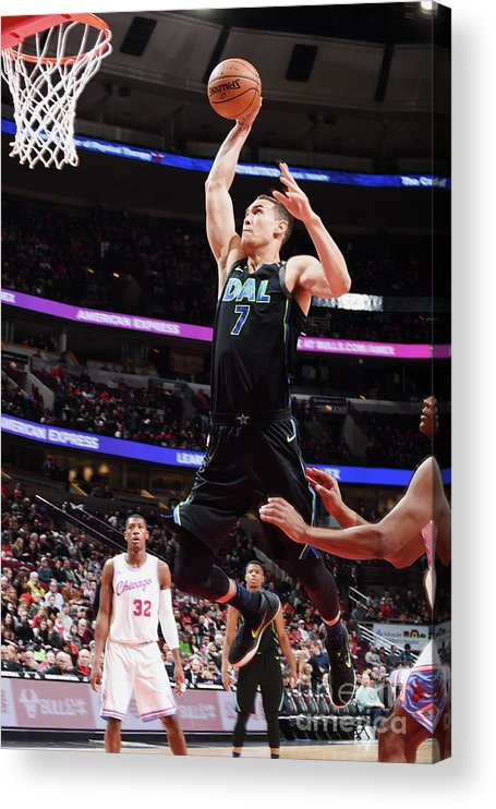 Dwight Powell Acrylic Print featuring the photograph Dwight Powell by Randy Belice
