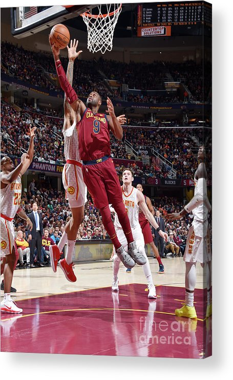 Nba Pro Basketball Acrylic Print featuring the photograph Dwyane Wade by David Liam Kyle