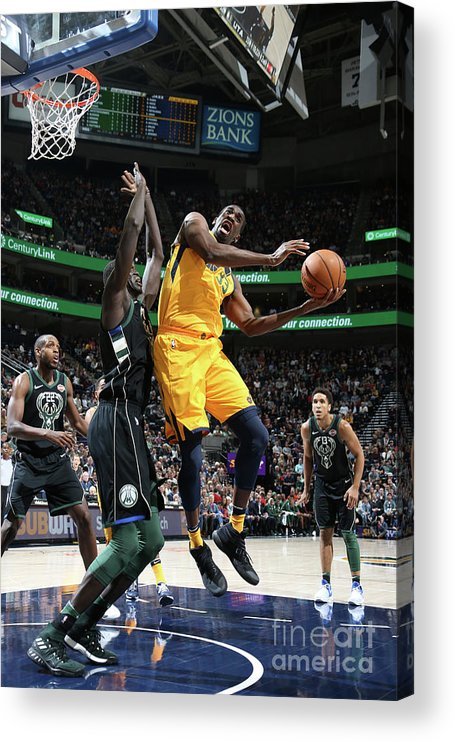 Nba Pro Basketball Acrylic Print featuring the photograph Ekpe Udoh by Melissa Majchrzak