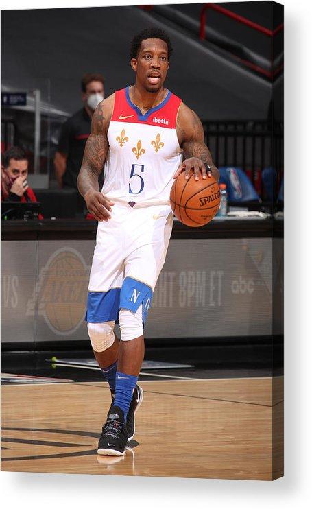 Nba Pro Basketball Acrylic Print featuring the photograph Eric Bledsoe by Issac Baldizon