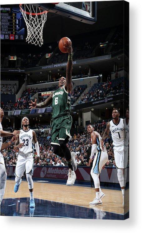 Nba Pro Basketball Acrylic Print featuring the photograph Eric Bledsoe by Joe Murphy