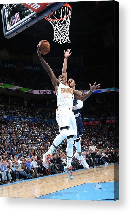 Nba Pro Basketball Acrylic Print featuring the photograph Eric Bledsoe by Layne Murdoch