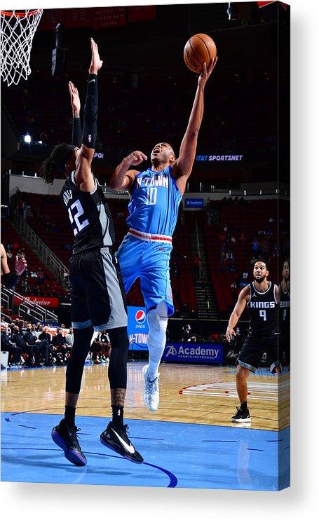 Nba Pro Basketball Acrylic Print featuring the photograph Eric Gordon by Cato Cataldo