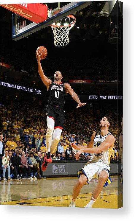 Playoffs Acrylic Print featuring the photograph Eric Gordon by Noah Graham