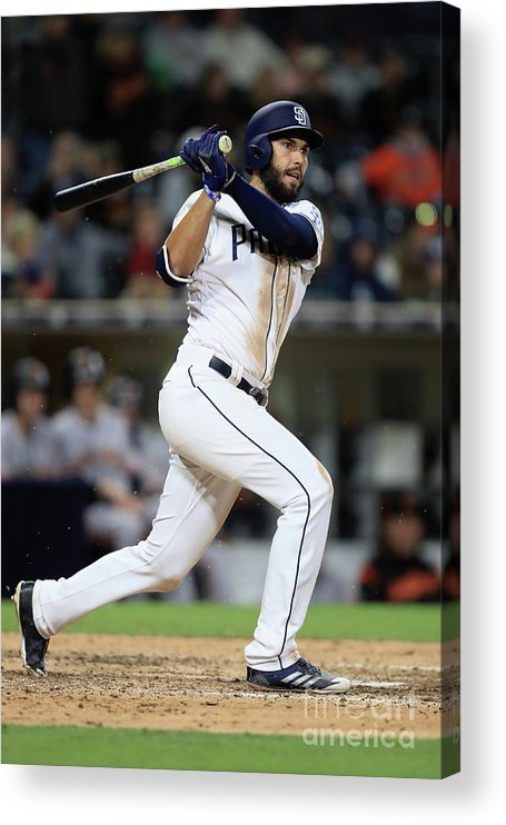 People Acrylic Print featuring the photograph Eric Hosmer by Sean M. Haffey