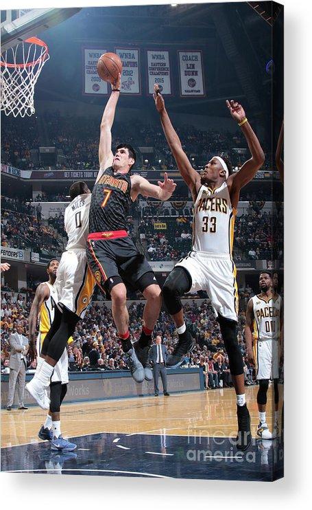 Nba Pro Basketball Acrylic Print featuring the photograph Ersan Ilyasova by Ron Hoskins