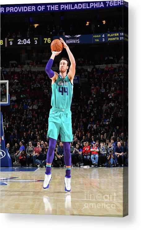 Nba Pro Basketball Acrylic Print featuring the photograph Frank Kaminsky by Jesse D. Garrabrant