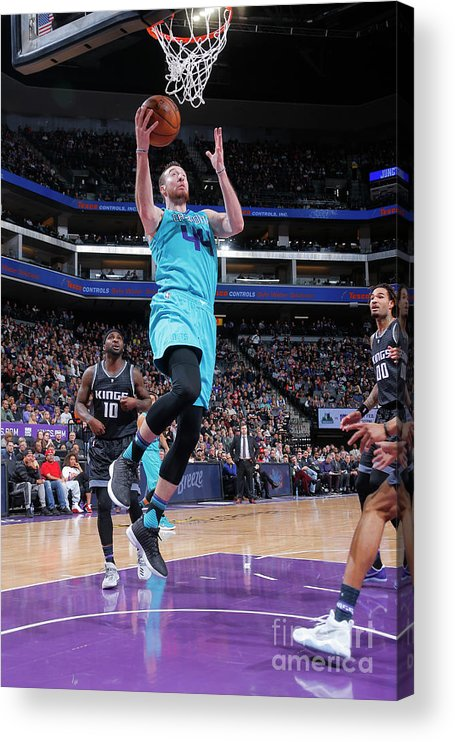 Nba Pro Basketball Acrylic Print featuring the photograph Frank Kaminsky by Rocky Widner