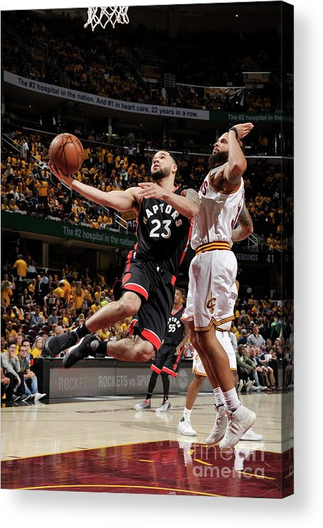 Playoffs Acrylic Print featuring the photograph Fred Vanvleet by David Liam Kyle