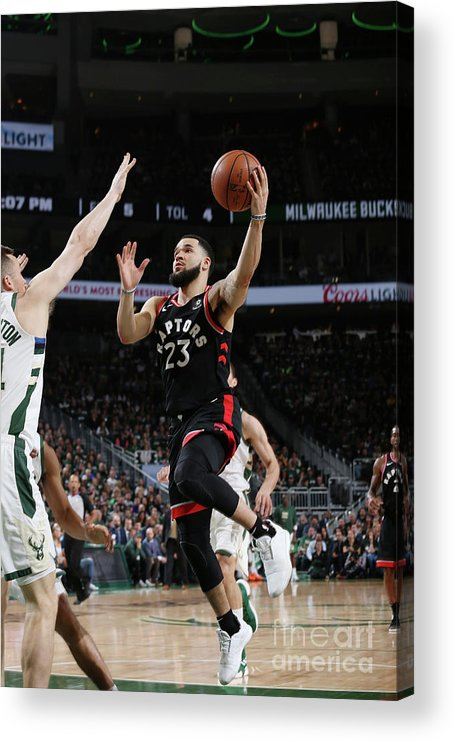 Game Two Acrylic Print featuring the photograph Fred Vanvleet by Gary Dineen