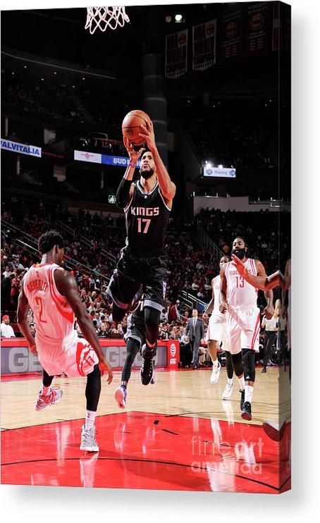 Nba Pro Basketball Acrylic Print featuring the photograph Garrett Temple by Bill Baptist