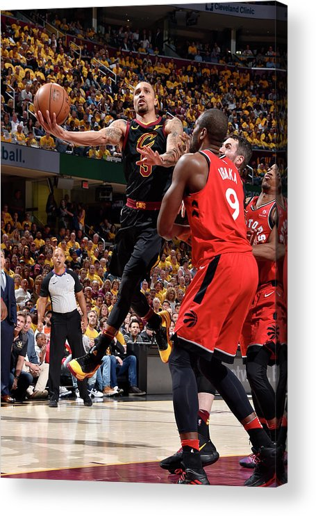 Playoffs Acrylic Print featuring the photograph George Hill by David Liam Kyle