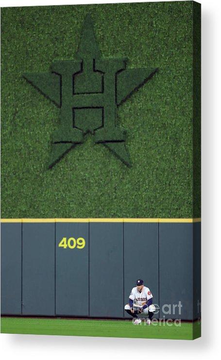 American League Baseball Acrylic Print featuring the photograph George Washington by Alex Trautwig