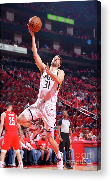 Playoffs Acrylic Print featuring the photograph Georges Niang by Bill Baptist