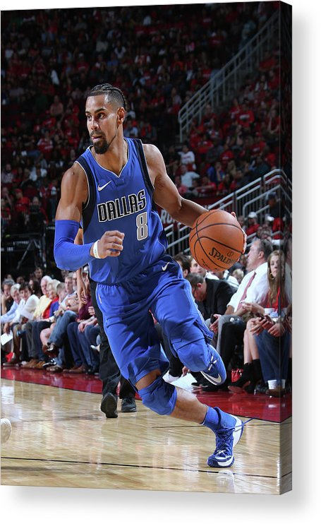 Nba Pro Basketball Acrylic Print featuring the photograph Gian Clavell by Layne Murdoch