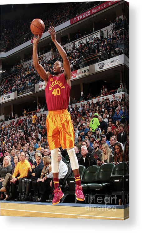 Nba Pro Basketball Acrylic Print featuring the photograph Glenn Robinson by Ron Hoskins