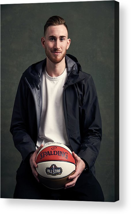Event Acrylic Print featuring the photograph Gordon Hayward by Jennifer Pottheiser