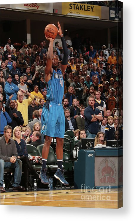 Nba Pro Basketball Acrylic Print featuring the photograph Harrison Barnes by Ron Hoskins
