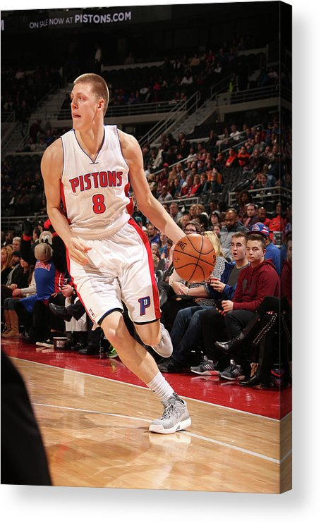 Nba Pro Basketball Acrylic Print featuring the photograph Henry Ellenson by Brian Sevald