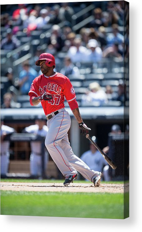 American League Baseball Acrylic Print featuring the photograph Howie Kendrick by Rob Tringali