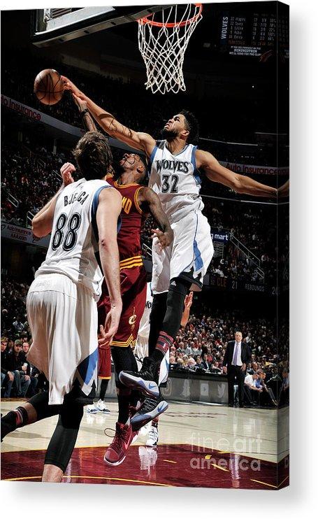 Nba Pro Basketball Acrylic Print featuring the photograph Iman Shumpert by David Liam Kyle