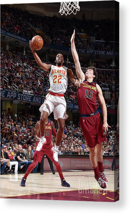 Nba Pro Basketball Acrylic Print featuring the photograph Isaiah Taylor by David Liam Kyle
